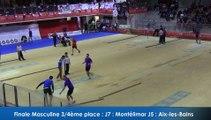 Finale tir rapide en double masculin, 3ème et 4ème places, France Tirs, Sport Boules, Dardilly 2016