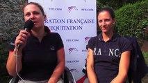 Stage para dressage equipe de France - 31 juillet 2015 - Saint-Germain-en-laye