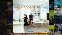 Apartment Living New Design for Urban Living