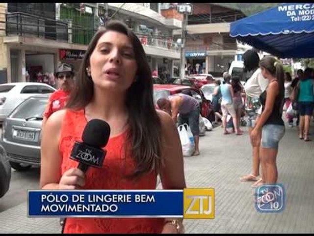 15-12-2014 - POLOS DE LINGERIE BEM MOVIMENTADOS - ZOOM TV JORNAL
