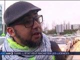 le gouvernement veut racheter les licences des taxis du 05/04/2016 - vidéo Dailymotion