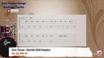 Scar Tissue - Red Hot Chili Peppers Drums Backing Track with chords and lyrics