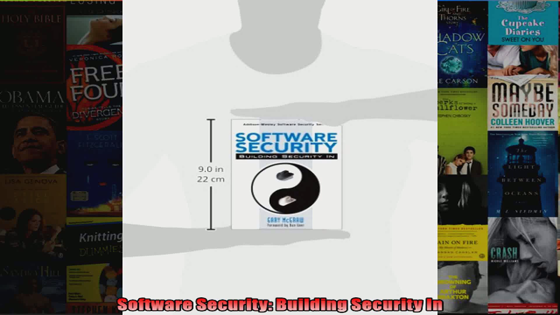 DOWNLOAD PDF  Software Security Building Security In FULL FREE