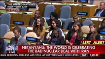 45 Seconds of Deafening Silence From United Nations during Benjamin Netanyahu Speech