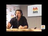 Patrick Bruel au studio des Indés Radios