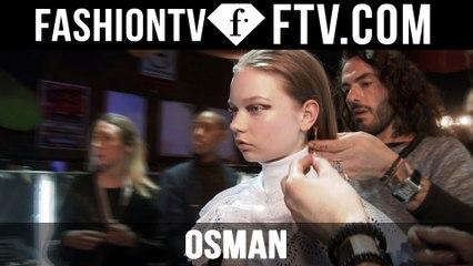 Osman Hairstyle at at London Fashion Week F/W 16-17 | FTV.com
