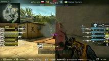 CS:GO Na'Vi vs Virtus pro final round @ Counter Pit League/ pasha knife