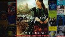 Undaunted Hope Beacons of Hope