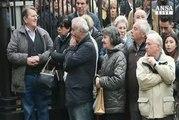 Folla per l'addio a Cesare Maldini