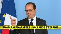 Panama Papers : François Hollande veut protéger les lanceurs d'alerte