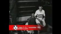 01.11.1961 - 1961-1962 European Champion Clubs' Cup 1st Round 1st Leg Feyenoord 1-3 Tottenham Hotspur