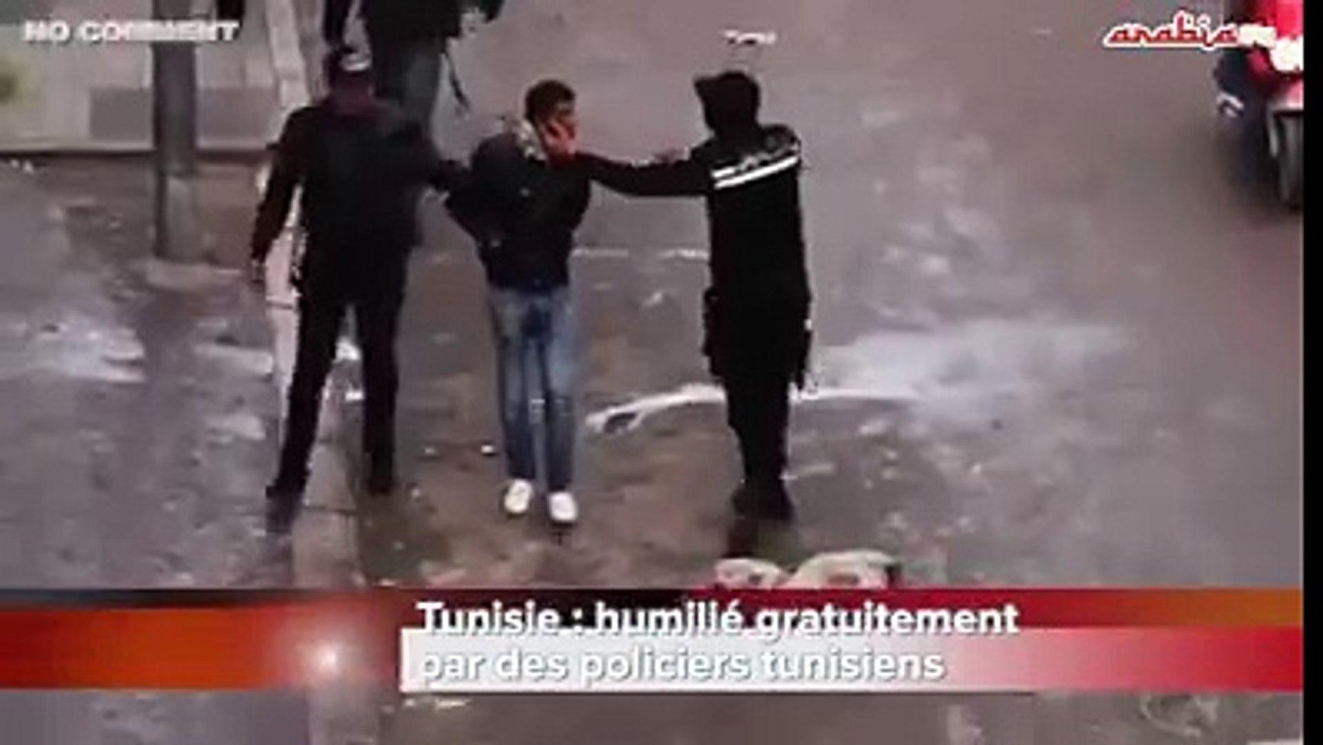 فضائح البوليس التونسي تبث في قنوات اجنبية !!