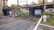 BB 67302 et RRR W + TGV Paris Lyon Milan