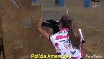 Policial Americana Versus Policial Brasileira! Será que estamos preparados???