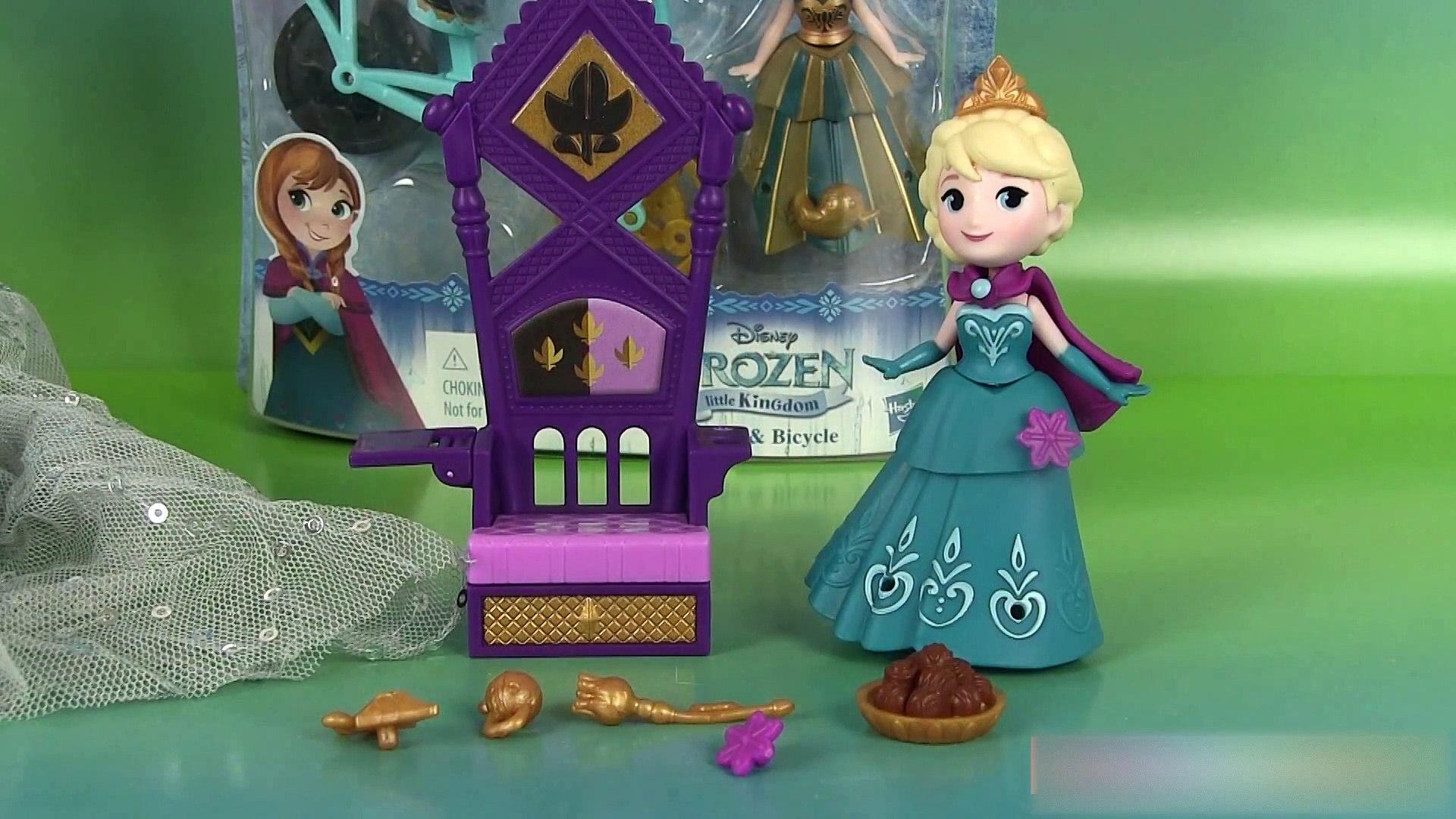 Vanity Coloriage Reine Des Neiges.Reine Des Neiges Little Kingdom Couronnement D Elsa Anna A Bicyclette Elsa And Throne