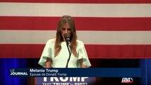 Sous pression, Trump sort son épouse et son atout charme
