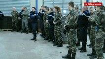 Finistère. Gendarmes : les réservistes en formation