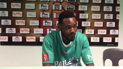 Yannick Bokolo (Conf de presse Elan - Monaco