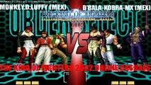 Fightcade - King of Fighters 2002 online casuals - MONKEY.D.LUFFY (MEX) vs. D'Bala-Kobra-MX (MEX)