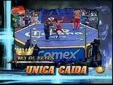 AAA-SinLimite 2009-03-15 Rey de Reys 04 Rey de Reyes Semi Final - La Parka vs. Kenzo Suzuki vs. S?per Porky vs. Escoria