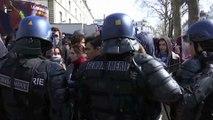 Mobilisation loi travail: des heurts en marge des manifestations