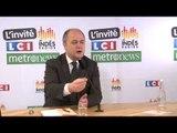 Bruno Le Roux : Loi sur le cumul des mandats François Rebsamen a eu un comportement archaïque