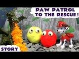 Paw Patrol Thomas and Friends Play Doh Dragon Rescue | Minions Peppa Pig Batman