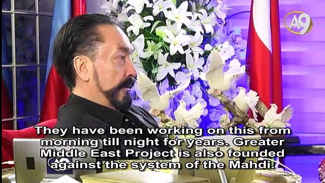 Ahmadinejad is telling the truth. The aim of Greater Middle East Project is to prevent the system of the Mahdi