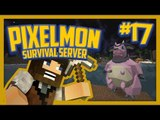 Pixelmon Survival Server (Minecraft Pokemon Mod) Lets Play Ep.17 Such a Tank!