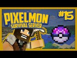 Pixelmon Survival Server (Minecraft Pokemon Mod) Lets Play Ep.15 Master Ball Hunt!