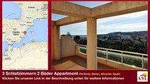 3 Schlafzimmern 2 Bäder Appartment zu verkaufen in Periferia, Denia, Alicante, Spain