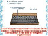 Clavier sans fil Bluetooth en bambou Prestigio MultiPad 7.0 Ultra / Ultra  / Ultra  New Cooper