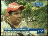 Corriente del Río Amarillo se llevó enseres, animales y cultivos