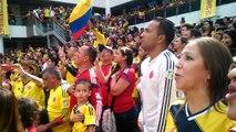 COLOMBIA Vs URUGUAY HIMNO NACIONAL