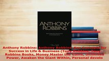 PDF  Anthony Robbins Anthony Robbins Key Concepts for Success in Life  Business Tony  EBook