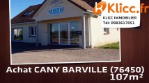 A vendre - CANY BARVILLE (76450) - 107m²