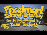 Pixelmon (Minecraft Pokemon Mod) Pokeballers Server Lets Play Ep.15 Im Being Abused By Team Rocket!