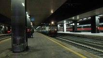 E656.058 in partenza con l' ICN 1955 Roma Termini - Siracusa/Palermo Centrale