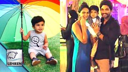 Allu Arjun Celebrates SON Allu Ayaan's Birthday