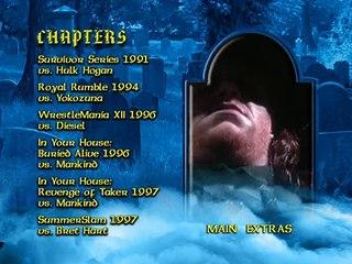 Undertaker dvd menu 3