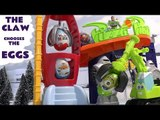 Kinder Surprise Eggs Peppa Pig Play Doh Diggin Rigs Toy Story Pizza Planet Claw Cars Hot Wheels Toys