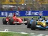 """Alonso vs Schumacher """"Imola 2005"""""""