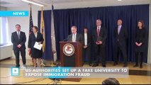 US authorities set up a fake university to expose immigration fraud