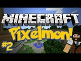 Pixelmon (Minecraft Pokemon Mod) Server Lets Play Ep.2 WE GOT BALLS!
