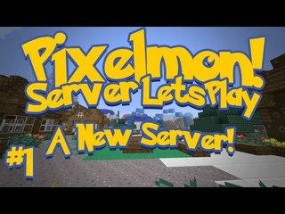 Pixelmon (Minecraft Pokemon Mod) Pokeballers Server Lets Play Ep.1 A New Server!