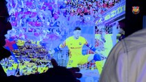 FCB Futbol Sala: visita a l'exposició del Nou Palau Blaugrana [CAT]