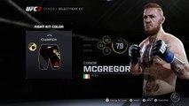 EA Sports UFC 2 Conor McGregor Career Mode EA Sports UFC 2 Conor McGregor Gameplay UFC Story Mode 142