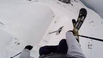David Wise : record du monde du saut à skis le plus haut