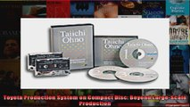 Toyota Production System on Compact Disc Beyond LargeScale Production