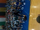 Dancing fool at Indiana state cheerleading competi